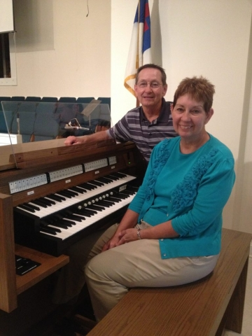 Organists with Allen Organ at First Baptist Church in Ardmore, Alabama