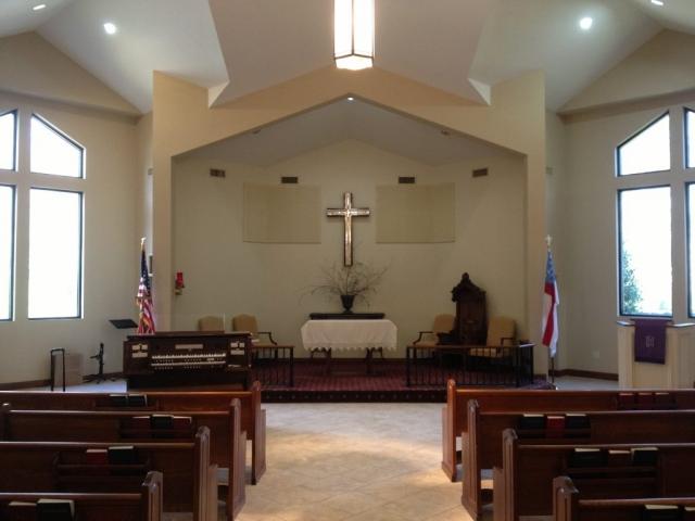 Allen Organ at First Episcopal Church in Leeds, Alabama
