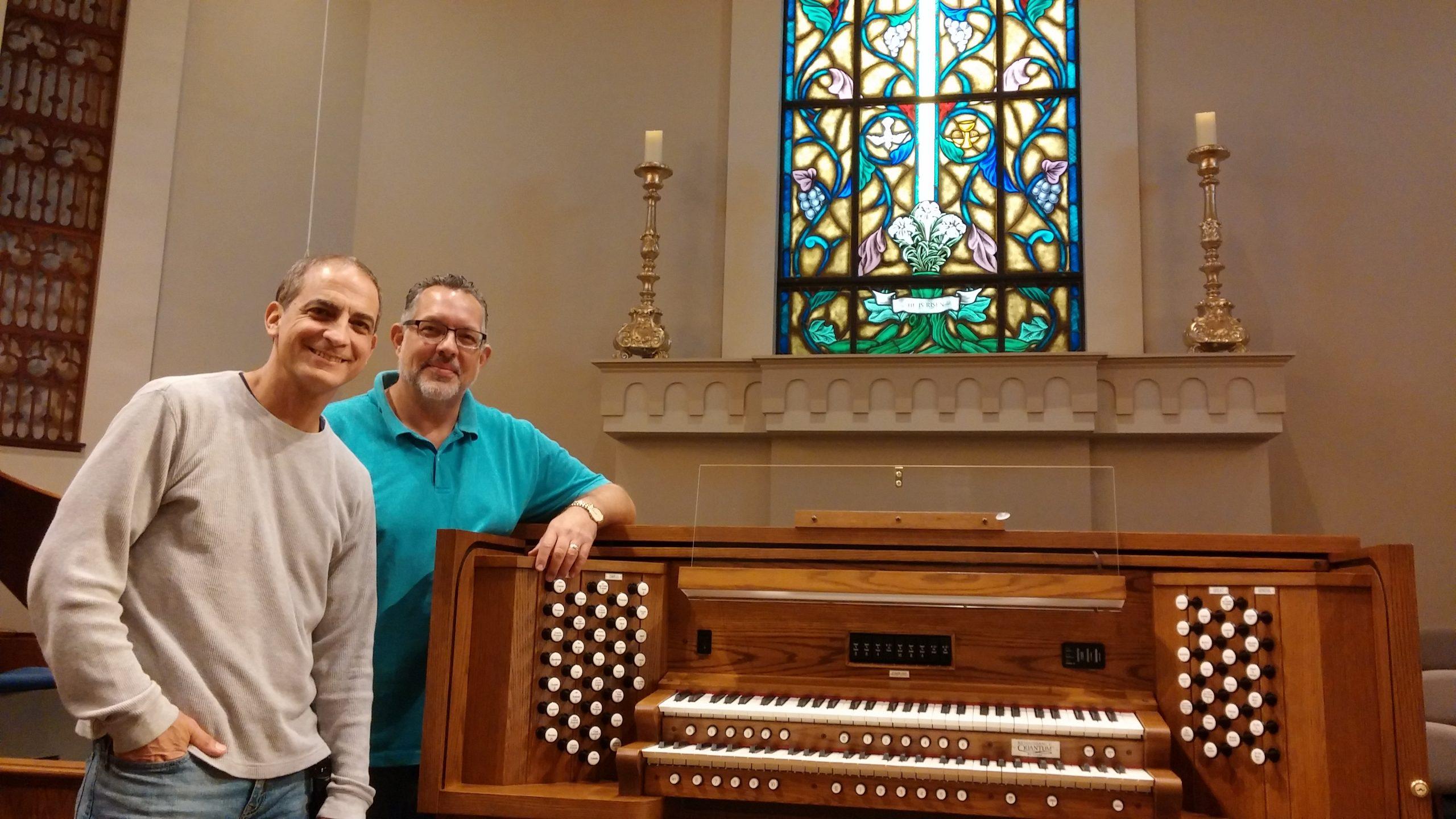 Allen Organ at Young Meadows Presbyterian in Montgomery, Alabama