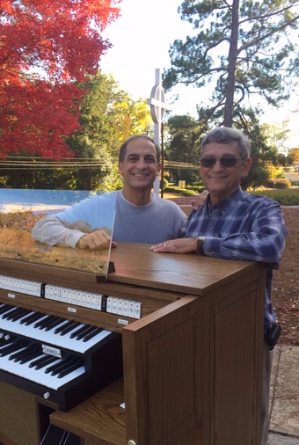 Allen Chancel organ installation at First Presbyterian Church in Anniston, Alabama