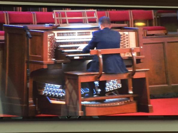 Allen Organ at Riverchase United Methodist Church in Birmingham, Alabama